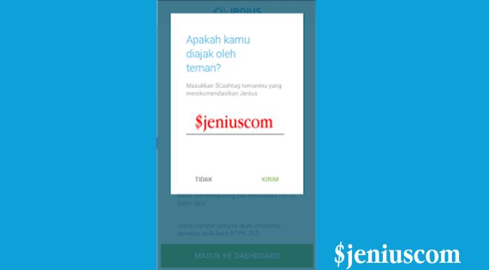Kode Sponsor Jenius BTPN - jenius.biz