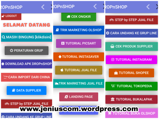 Tutorial Buka Olshop & Jual File DROPnSHOP_2